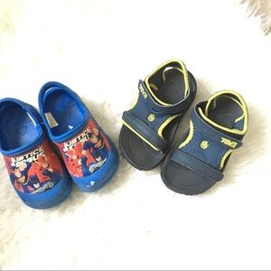 Boys Summer Shoe Lot Size 7